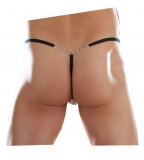 G-String, Ministring Notina in schwarz von Body Art